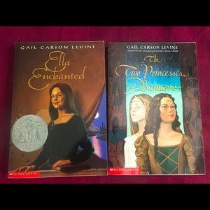 3 Gail Carson Levine Novels